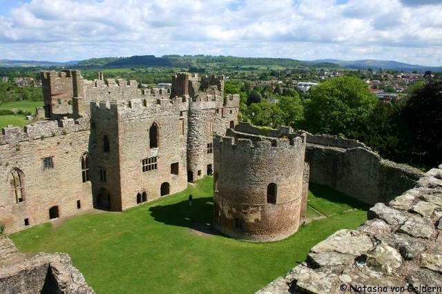 zamek Ellesmere Anglia
