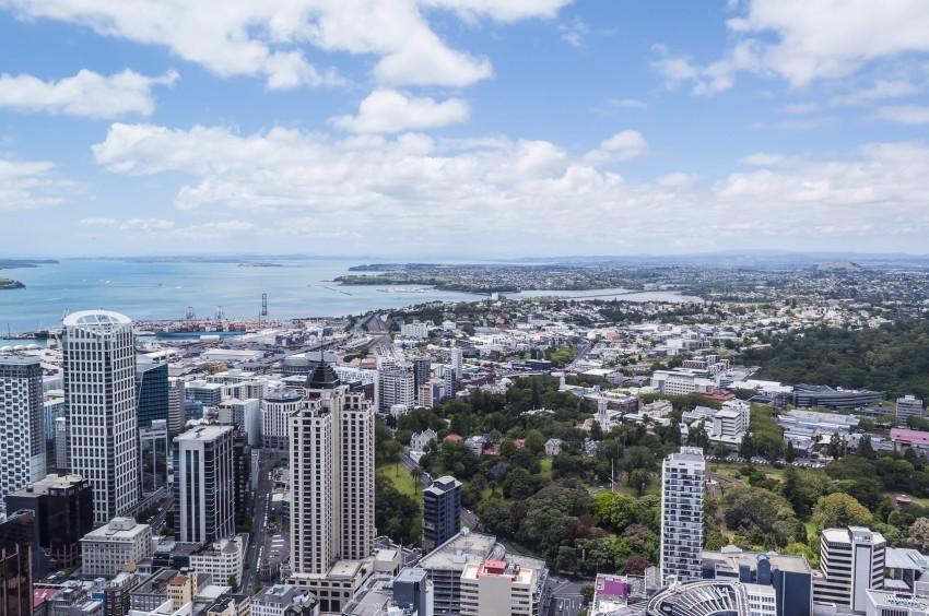 Auckland w dzień