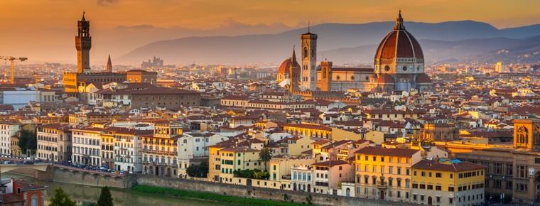włoski we Włoszech Florencja