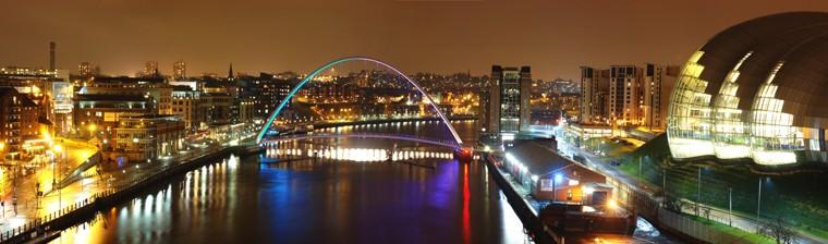 angielski w Anglii Newcastle