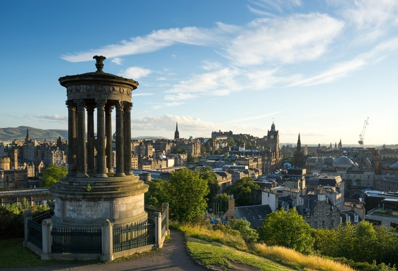Edinburgh city, Scoltland, UK