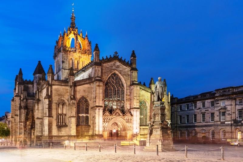 St Giles' Cathedral Edinburgh Royal Mile